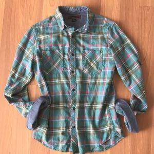 Paper Denim & Cloth Lightweight Plaid Flannel